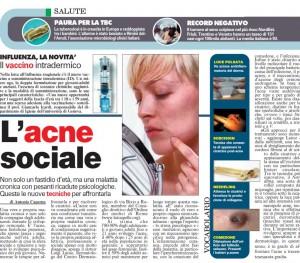 acne malattia sociale