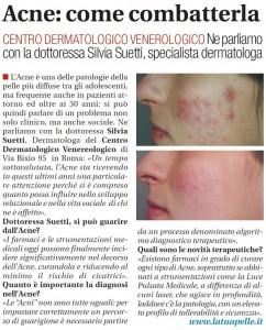 intervista acne suetti